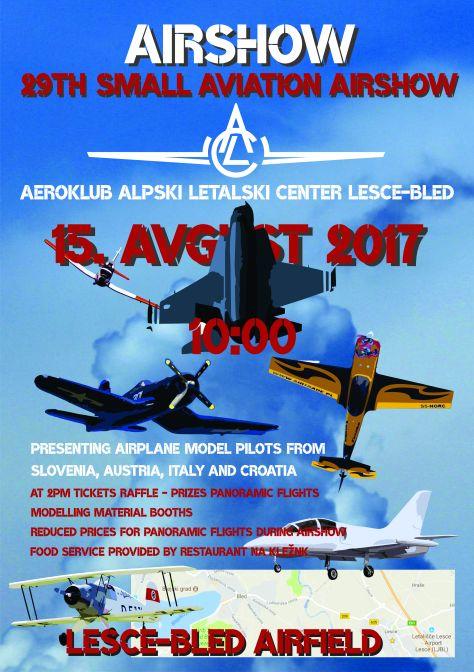 Plakat miting malega letalstva_ENG