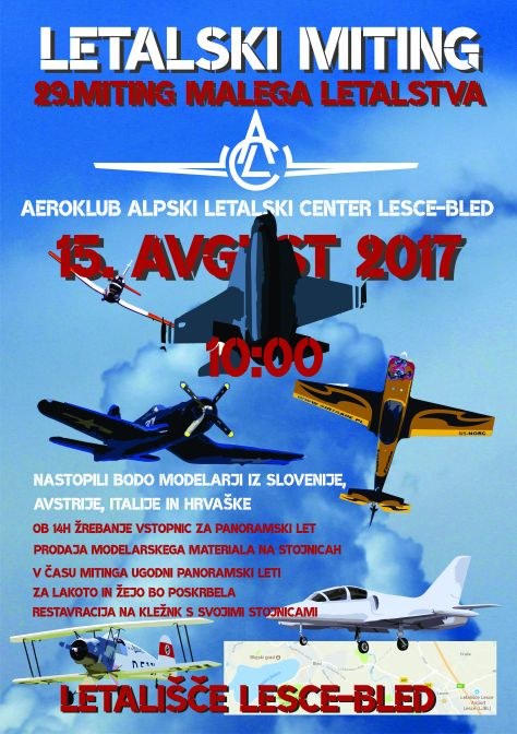 Plakat miting malega letalstva_SLO