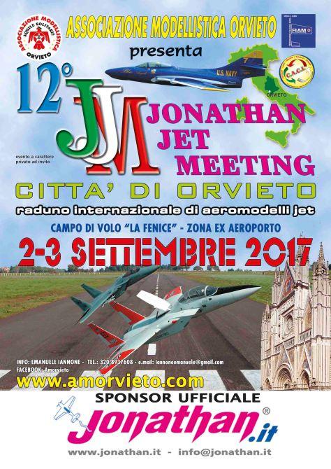 locandina jet meeting 2017